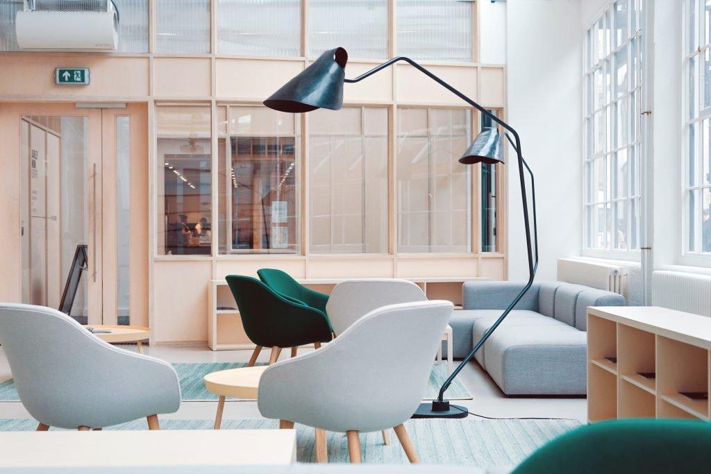 designerski wystrój biura